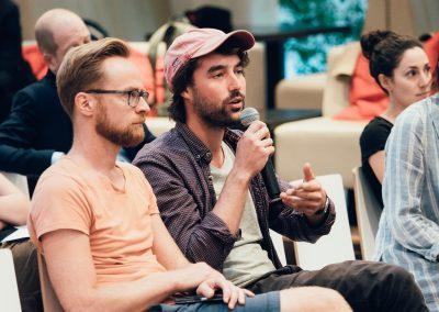 Podiumsdiskussion Publikum © Andreas Hofmarcher/Maisblau Videoproduktion