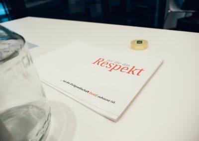 Podiumsdiskussion derdiedasRespekt © Andreas Hofmarcher/Maisblau Videoproduktion